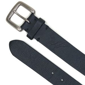 "AEO 36"" Black Leather Belt"